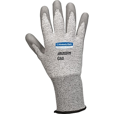 Jackson Safety® G60 Level 3 Cut Resistant Gloves with Dyneema® Fiber, Grey, 2XL, 12/Pair