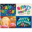 MAP Brand Graphic Image Assorted Laser Postcards Birthday