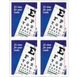 MAP Brand Graphic Image Laser Postcards Red Blue Eye Chart