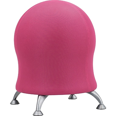 Safco® Zenergy™ Ball Chair, Pink