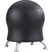 Safco® Zenergy™ Ball Chair, Black Vinyl