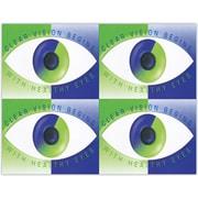 MAP Brand Reminder Laser Postcards Modern Eye