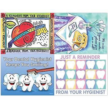MAP Brand Dental Assorted Laser Postcards Hygienist Specialty