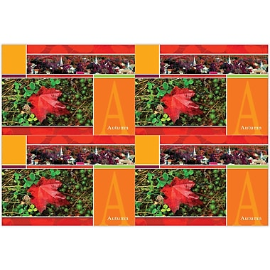 MAP Brand Scenic Deluxe Laser Postcards Autumn