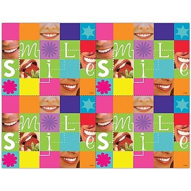 MAP Brand Graphic Image Laser Postcards Smile Patchwork