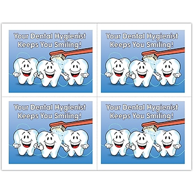 MAP Brand Hygienist Laser Postcards Smiling Teeth