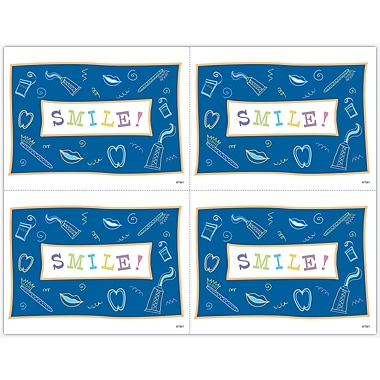 MAP Brand Graphic Image Laser Postcards Dental Icons