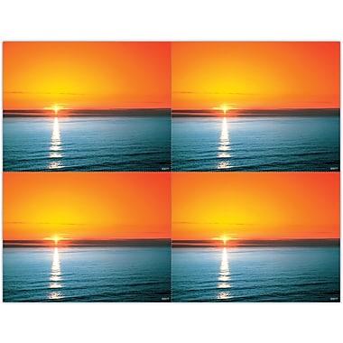MAP Brand Scenic Laser Postcards Ocean Sunset