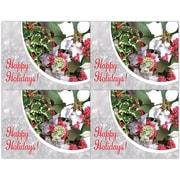 MAP Brand Photo Image Laser Postcards Happy Holidays
