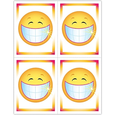 MAP Brand Graphic Image Laser Postcards Smiley Face with Teeth