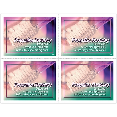 MAP Brand Preventive Laser Postcards Preventive Dentistry