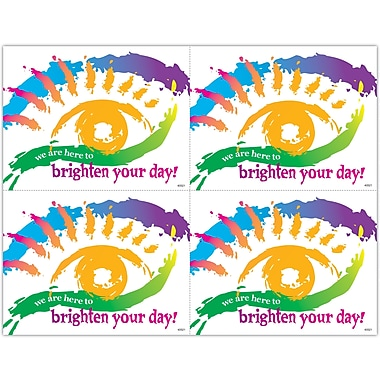 MAP Brand Graphic Image Laser Postcards Brighten Your Day