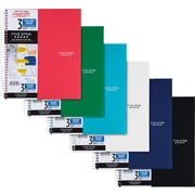 "Five Star® 3-Subject Notebook, College Ruled, Assorted, 8-1/2"" x 11"""