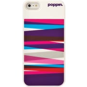 Poppin iPhone 5/5S Case, Purple Streamers