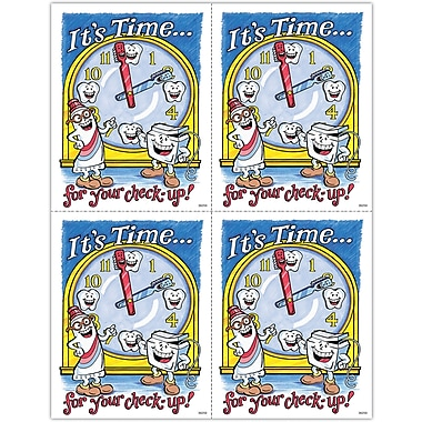 MAP Brand Smile Team Laser Postcards It's Time/Clock
