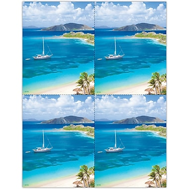 MAP Brand Photo Image Laser Postcards Sailboat