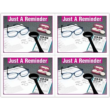 MAP Brand Graphic Image Laser Postcards Opti Reminder