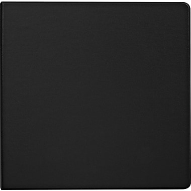 Staples Black 5-Inch D-Ring Binder, Black (26322)