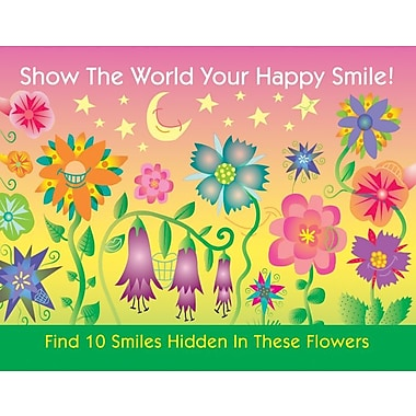 MAP Brand Patient Interactive Laser Postcards Find 10 Smiles