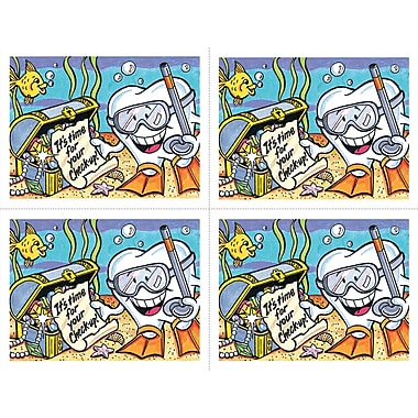 MAP Brand Smile Team Laser Postcards Under the Sea