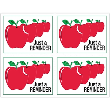 MAP Brand Graphic Image Laser Postcards Apples,