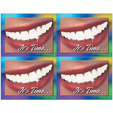 MAP Brand Cosmetic Dentistry Laser Postcards It's Time...Smile Deluxe