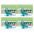 MAP Brand Toothguy Laser Postcards Dentist Office