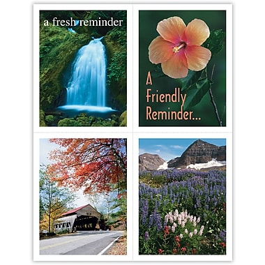 MAP Brand Scenic Assorted Laser Postcards Scenic