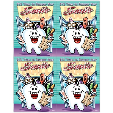 MAP Brand Smile Team Laser Postcards Time to Pamper Smile