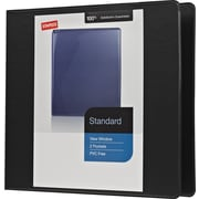 "3"" Staples® Standard View Binder with Slant-D™ Rings"