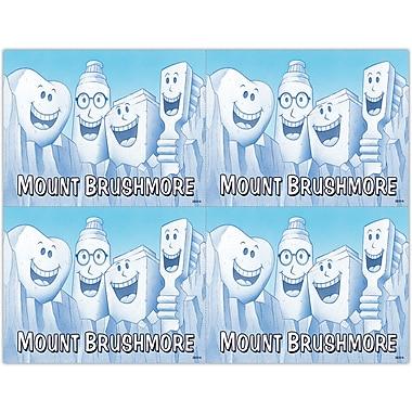 MAP Brand Smile Team Laser Postcards Mount Brushmore