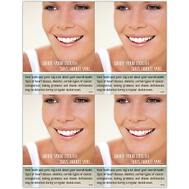 MAP Brand Graphic Image Laser Postcards What your mouth says about you