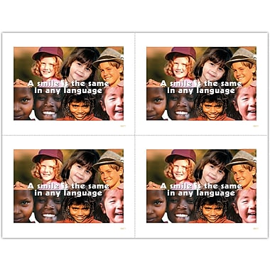 MAP Brand Graphic Image Laser Postcards Smile/Face Collage