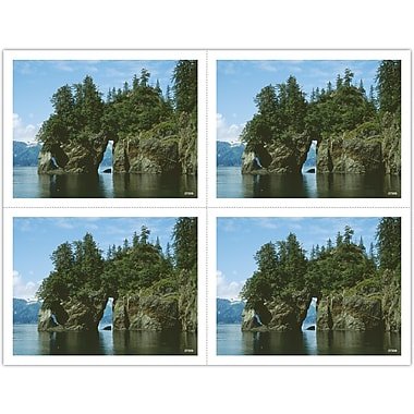 MAP Brand Scenic Laser Postcards Rock Archway in Lake
