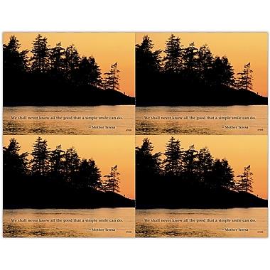 MAP Brand Scenic Deluxe Laser Postcards Lakeshore