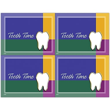 MAP Brand Gentle Dental Laser Postcards Tooth Time