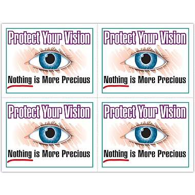 MAP Brand Preventive Laser Postcards Protect Vision
