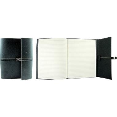 Winnable - Cahier de notes à couverture en cuir reconstitué, charbon, 192 pages