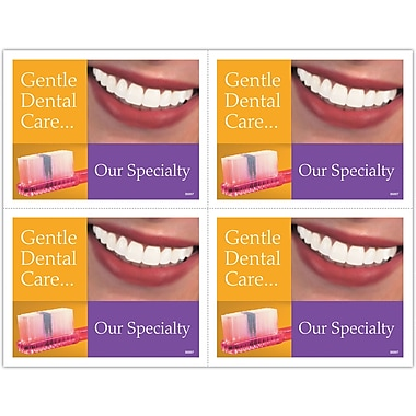 MAP Brand Gentle Dental Laser Postcards Our Specialty