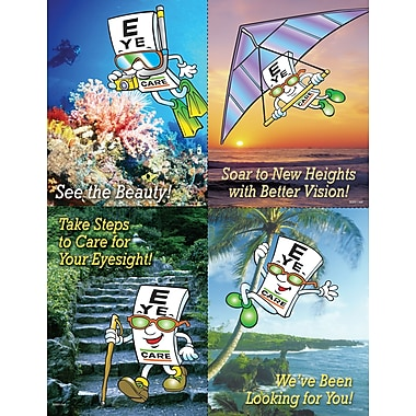 MAP Brand Eye Guy Assorted Laser Postcards