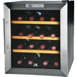 Kalorik 16-Bottle Wine Cooler, Black Silver