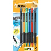 BIC Xtra Comfort Mechanical Pencils, 0.7mm, 6/Pack