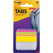 "Post-it® Filing Angle Tabs, 2"", Assorted Colors"