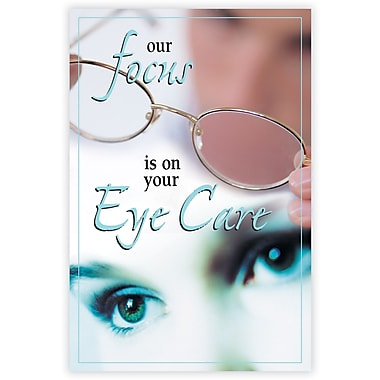 MAP Brand Photo Image Laser Postcards Focus-Eye Care