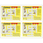 MAP Brand Smile Team Patient Interactive Laser Postcards Crossword Fun