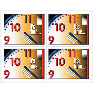 MAP Brand Graphic Image Laser Postcards Toothbrush Clock
