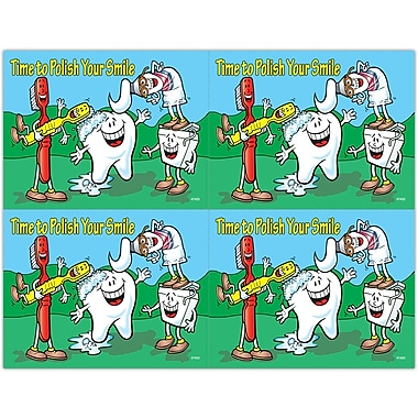 MAP Brand Smile Team Laser Postcards Time to Polish Your Smile