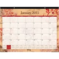 2015 Blue Sky® Heather Desk Calendar, 22in.x17in.