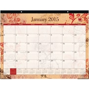 2015 Blue Sky® Heather Desk Calendar, 22x17