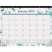 2015 Blue Sky® Lindley Desk Calendar, 22x17